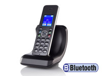 simvalley DECT-Schnurlostelefon FNT-1088.bt, GAP & Bluetooth