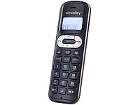 "simvalley DECT-Mobilteil ""FNT-1050.easy"" GAP, ECO-DECT"