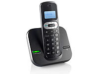 "simvalley communications DECT-Schnurlostelefon ""FNT-1050.easy"", GAP, ECO-DECT"