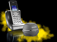 "simvalley communications DECT-Freisprech-Box ""FNF-920.bt"" mit Bluetooth; GSM-Tischtelefone GSM-Tischtelefone"