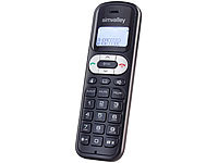 "simvalley communications DECT-Mobilteil ""FNT-1050.easy"" GAP, ECO-DECT"