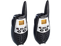 simvalley communications Walkie-Talkie-Set WT-50, 5 km Reichweite